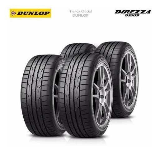 Kit X4 265/35 R18 Dunlop Direzza Dz102 + Tienda Oficial