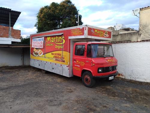 Caminhão Trailer Food Truck