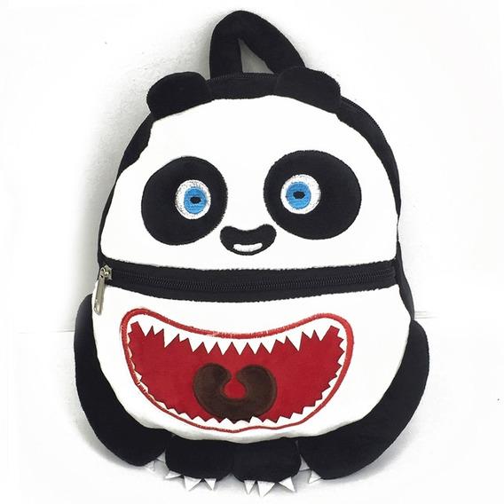 Exclusiva! Mochila Infantil Peluche Monstruos Boo - 6 Tipos