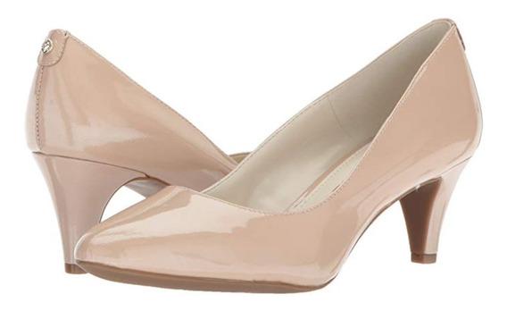Zapatos Zapatillas Dama Anne Klein! Piel! Flex! Talla 26 Mex