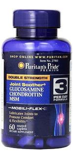 Glucosamina Condroitina Msm Colageno Joint - Importado Usa