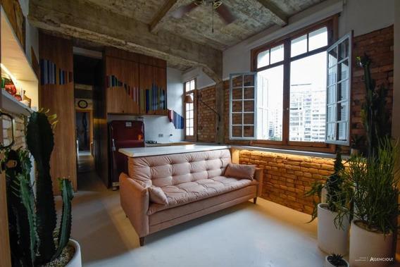Apartamento Para Venda Em São Paulo, Centro, 1 Dormitório, 1 Banheiro - Agx031v9834