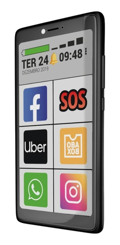 Obabox ObaSmart 3 Dual SIM 32 GB preto 1 GB RAM