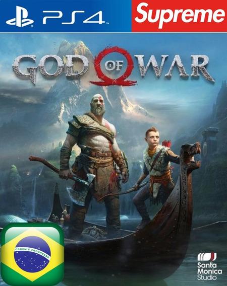 God Of War 4 Ps4 Psn Original 1 Totalmente Em Português
