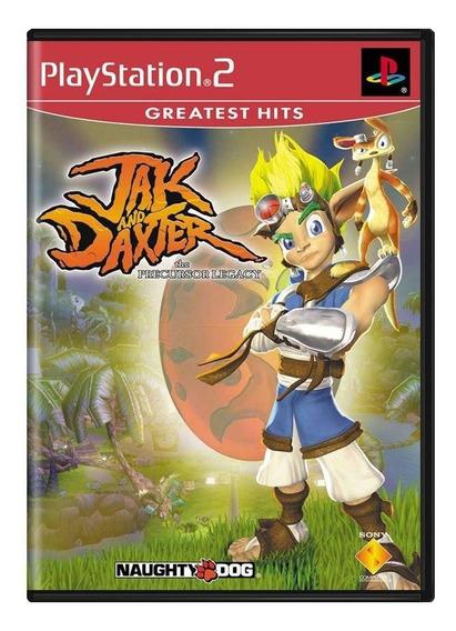 Jak And Daxter The Precursor Legacy Ps2 Mídia Física
