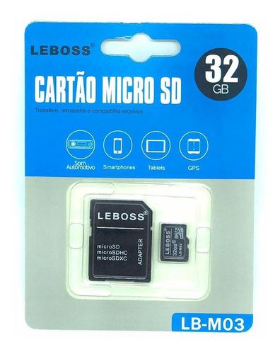 Imagem 1 de 1 de 5 Cartão De Memoria Micro Sd 32gb + Adaptador Atacado
