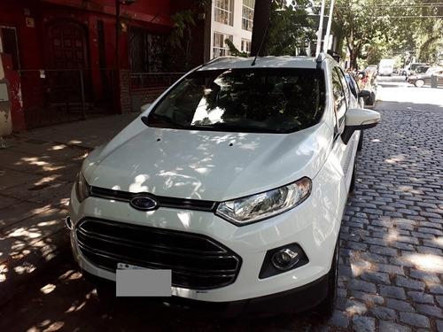 Ford Ecosport Motor 2.0 Titanium Mt Cuero 5p Blanco 2013