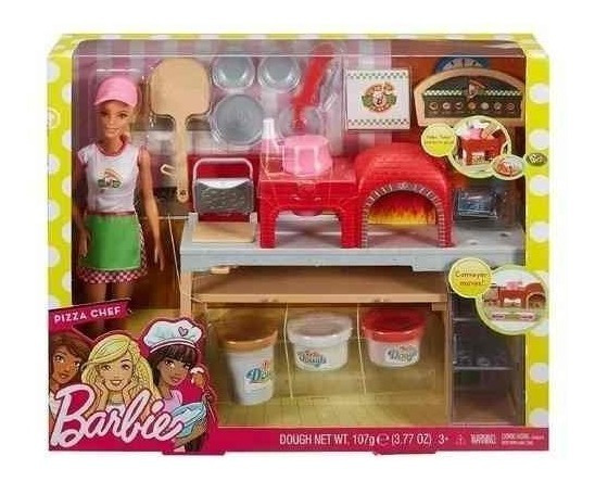 Boneca Barbie Pizzaiola Original - Mattel Fhr09