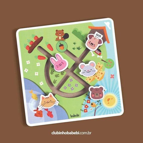 Brinquedo Educativo 1 Ano Labirinto No Campo