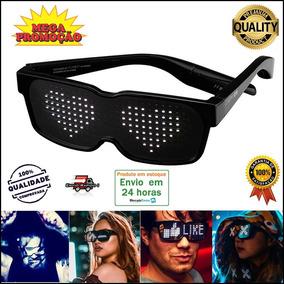 e248d0773 Óculos Led Chemion 2 Programável Mod Novo - Pronta Entrega. R$ 599