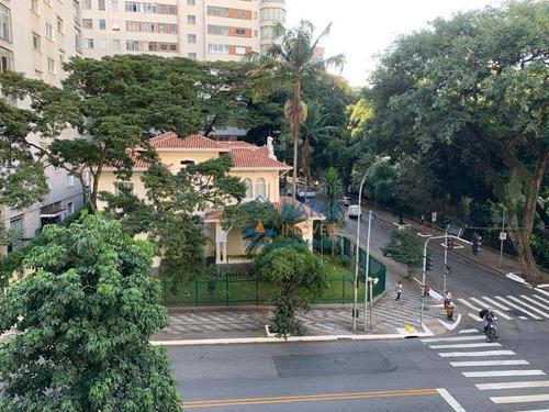 Apartamento Com 3 Dormitórios Para Alugar, 163 M² Por R$ 4.800,00/mês - Higienópolis - São Paulo/sp - Ap64010