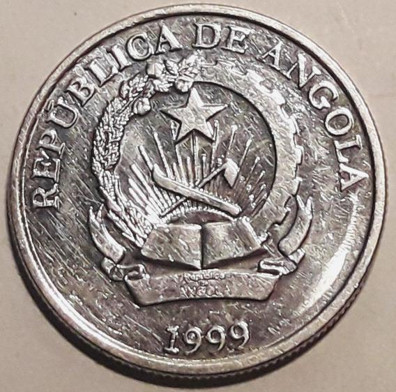 Angola - Moneda Del Año 1999 De 5 Kwanzas - Sin Circular