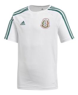 Jersey Seleccion De Mexico Visitante Fan Niño adidas Bp5530