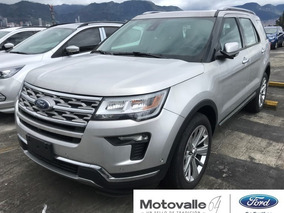 Ford Explorer Limited 4x4 Plata Puro