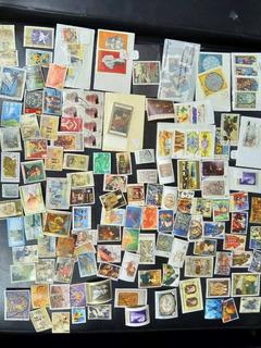 156 Estampillas De Arte Diferentes Países