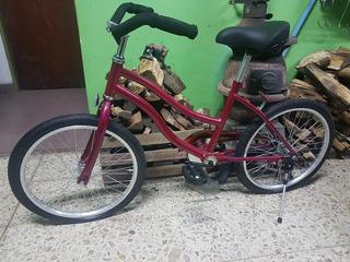Bicicleta Playera De Nena Rodado 20 Directo De Fabrica