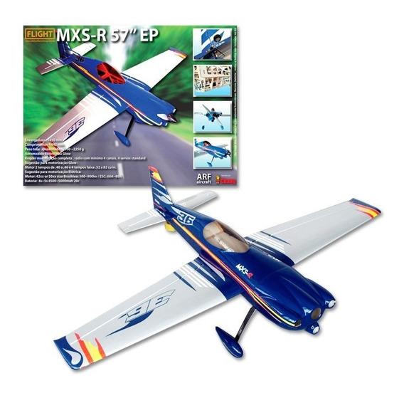 Aeromodelo Arf Mxs-r P/ Motores 40/46 3d Aeromodelismo