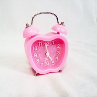 Reloj Despertador Campanita Análogo A Pila Diseño Original!
