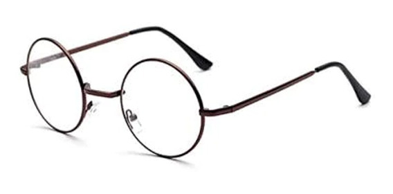 Lentes Armazon Oftalmico Antireflejante Harry Potter Gold