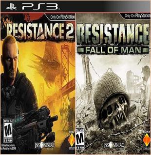 Resistance 2 + Resistance: Fall Of Man Ps3 Digital 2en1
