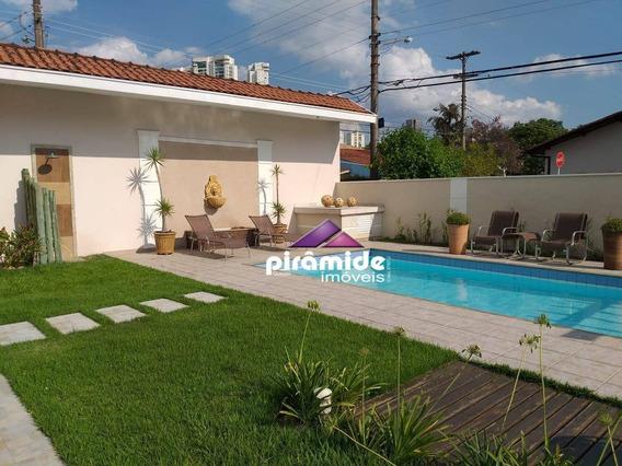 Casa Com 4 Dormitórios À Venda, 543 M² Por R$ 2.700.000,00 - Jardim Das Colinas - São José Dos Campos/sp - Ca5168