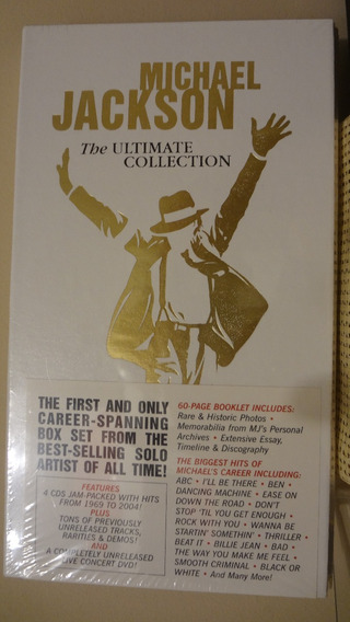 Box Michael Jackson - The Ultimate Collection - Rei Do Pop