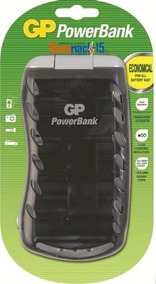 Cargador De Baterias Gp Universal Para Aa,aaa,9v,c,d