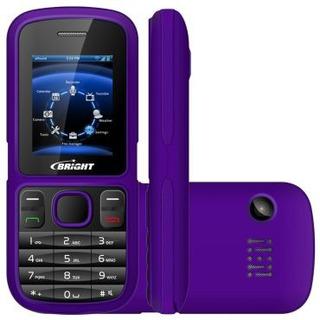 Celular 2 Chips Bright Bluetooth Mp3 Radio Lanterna Câmera