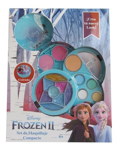 Imagen 1 de 4 de Set Maquillaje Belleza Niñas Frozen Fun Max Bestoys