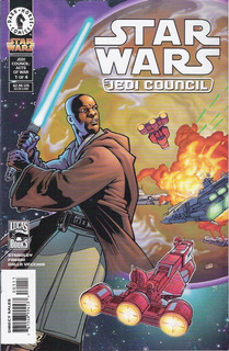 Star Wars Jedi Concil: Acts Of War (miniserie Completa)