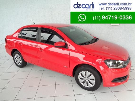 Volkswagen Voyage 1.0 Mi (flex) Vermelho - 2013/2014