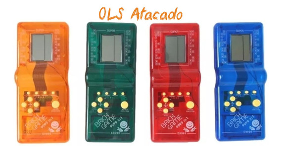 15 Super Mini Game Portátil 999 In 1 Brick Game Brinquedo