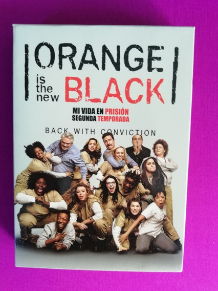 Orange Is The New Black Segunda Temporada Completa Dvd