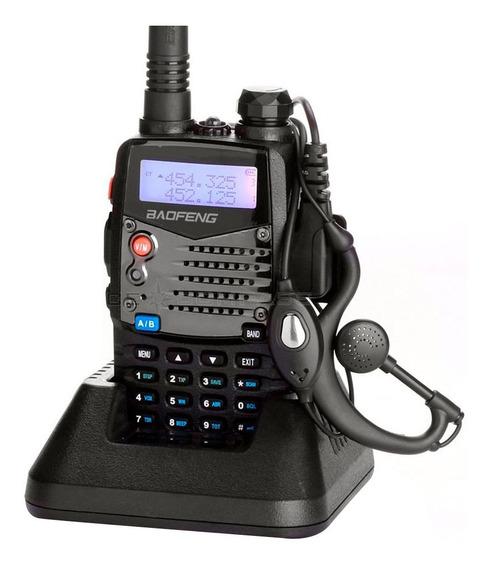 Handie Walkie Talkie Baofeng Vhf/uhf Uv5r Recargable 128 Ch.