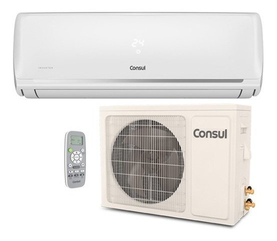 Ar Condicionado Split Hi Wall Consul Inverter 12000 Btu Q/f