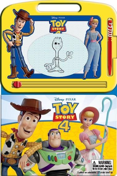 Toy Story 4 Pizarra Magica Libro Para Niños