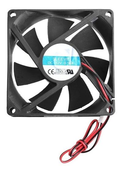 Ventoinha Cooler Fan 80mm 12v 0,15a Ventilador Chocadeira Ar