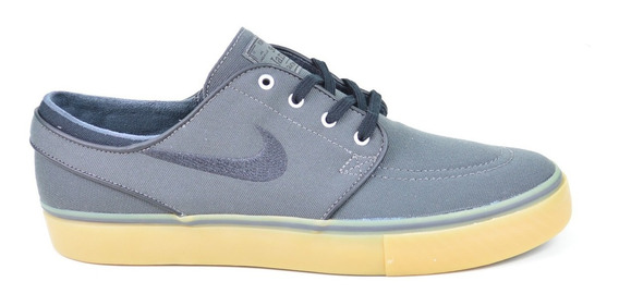 Tênis Nikesb Zoom Stefan Janoski Grey Brown