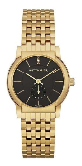 Wittnauer Wn4049 Para Hombre Carly Mini Diamante Del Oro De