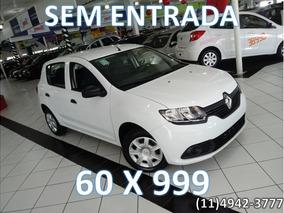Renault Sandero Authentique 1.0 12v 4p 60x999 Sem Entrada