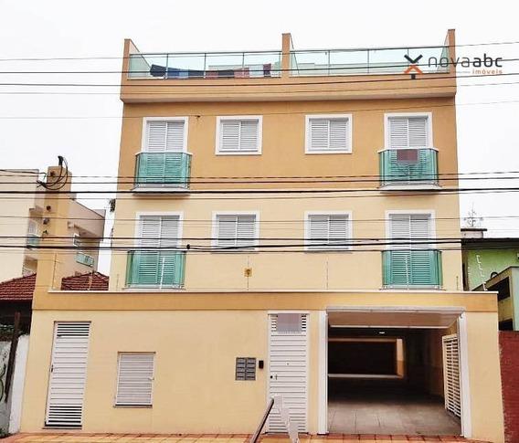 Apartamento Com 1 Dormitório À Venda, 43 M² Por R$ 256.170,00 - Vila Pires - Santo André/sp - Ap0989