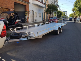 Trailer Dos Utv Can-am Polaris Yamaha