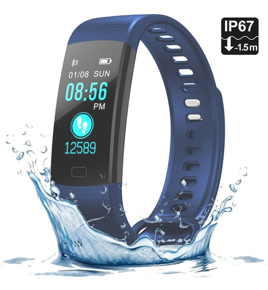 Smart Watch Band Y5 Inteligente Bluetooth Fitness Ip67 Andro