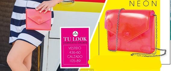Bolsa De Mano Dama Color Fiusha 105-91 Cklass 1-20 D Urban