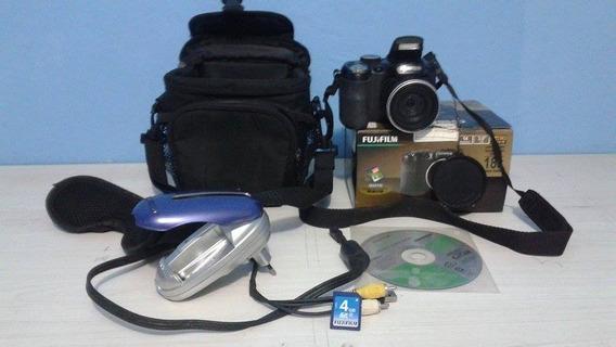 Câmera Carregador De Pilha Bolsa E Acessórios
