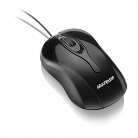 Mouse Colors Black Usb Mo141 Multilaser