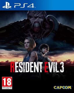Resident Evil 3 Remake Digital Ps4