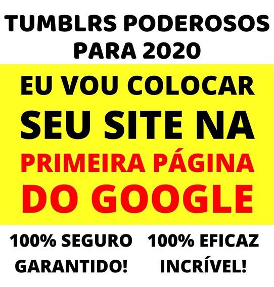 10 Tumblr Domínio Expirado Pa 60+ Web 2.0 Pbn Seo Off-page