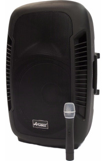 Bafle Potenciado Apogee Bt-215 150w Bluetooth Mic Bat Oferta