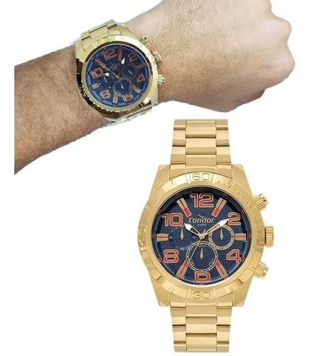Relógio Masculino Condor Multifunção Covd54bf/4a